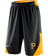 Men's Nike Pittsburgh Pirates MLB Authentic Dri-FIT Fly Training Shorts