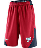 Men's Nike Washington Nationals MLB Authentic Dri-FIT Fly Training Shorts