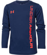 Boys' Preschool Under Armour Wordmark Long-Sleeve T-Shirt