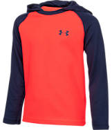 Boys' Preschool Under Armour Hooded Long Sleeve Shirt