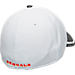 Back view of New Era Cincinnati Bengals NFL Training Camp 39THIRTY Flex Fit Hat in White/Team Colors