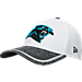Alternate view of New Era Carolina Panthers NFL Training Camp 39THIRTY Flex Fit Hat in White/Team Colors