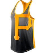 Women's Nike Pittsburgh Pirates MLB Fade Tank