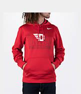 Men's Nike Dayton Flyers College Therma Fit KO Poly Hoodie
