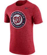 Men's Nike Washington Nationals MLB Marled T-Shirt