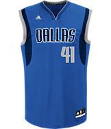 Kids' adidas Dallas Mavericks NBA Dirk Nowitzki Replica Jersey