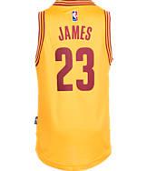 Kids' adidas Cleveland Cavaliers NBA LeBron James Swingman Jersey