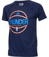 Kids' adidas Oklahoma City Thunder NBA Pre Game T-Shirt