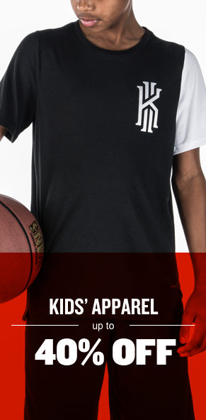 Kids' Apparel Up To 40% Off