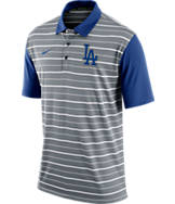 Men's Nike Los Angeles Dodgers MLB Dri-FIT Polo Shirt