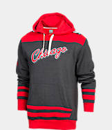 Men's Majestic Chicago Bulls NBA Double-Double Pullover Hoodie