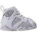 Right view of Boys' Toddler Jordan Retro 7 Basketball Shoes in Pure Platinum