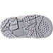 Bottom view of Boys' Toddler Jordan Retro 7 Basketball Shoes in Pure Platinum