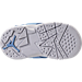 Bottom view of Boys' Toddler Jordan Retro 7 Basketball Shoes in University Blue - Pantone