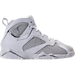 Right view of Boys' Preschool Jordan Retro 7 Basketball Shoes in Pure Platinum