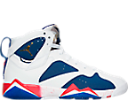 Boys' Grade School Air Jordan Retro 7 Basketball Shoes
