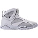 Right view of Men's Air Jordan Retro 7 Basketball Shoes in Pure Platinum
