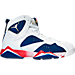 Right view of Men's Air Jordan Retro 7 Basketball Shoes in 123