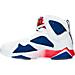 Left view of Men's Air Jordan Retro 7 Basketball Shoes in 123