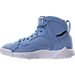 Left view of Men's Air Jordan Retro 7 Basketball Shoes in University Blue/White/Black