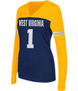 Women's Stadium West Virginia Mountaineers College Packed Powder Long-Sleeve T-Shirt