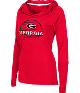 Women's Stadium Georgia Bulldogs College Liftie Long-Sleeve Shirt