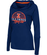 Women's Stadium Illinois Fighting Illini Packed Powder Long-Sleeve Shirt