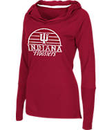 Women's Stadium Indiana Hoosiers College Liftie Long-Sleeve Shirt