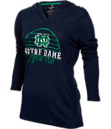 Women's Stadium Notre Dame Fighting Irish College Liftie Long-Sleeve Shirt