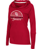 Women's Stadium Oklahoma Sooners Packed Powder Long-Sleeve Shirt
