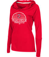 Women's Stadium Wisconsin Badgers College Liftie Long-Sleeve Shirt