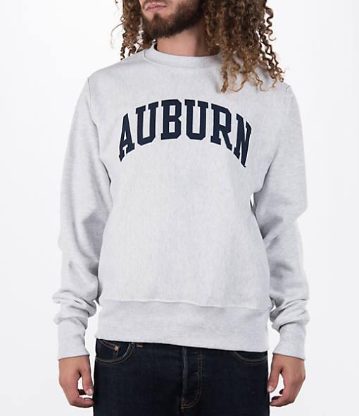 Men's Champion Auburn Tigers College Weave Crew Sweatshirt