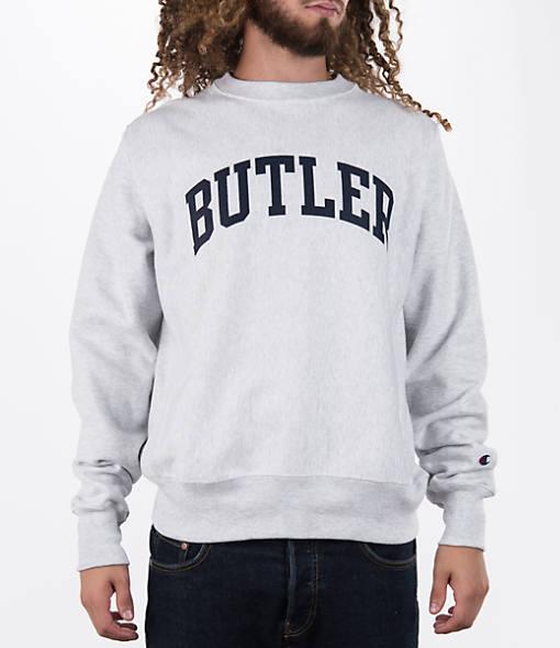 Men's Champion Butler Bulldogs College Weave Crew Sweatshirt