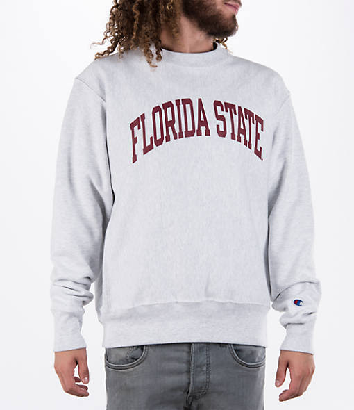 Men's Champion Florida State Seminoles College Weave Crew Sweatshirt