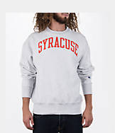 Men's Champion Syracuse Orange College Weave Crew Sweatshirt
