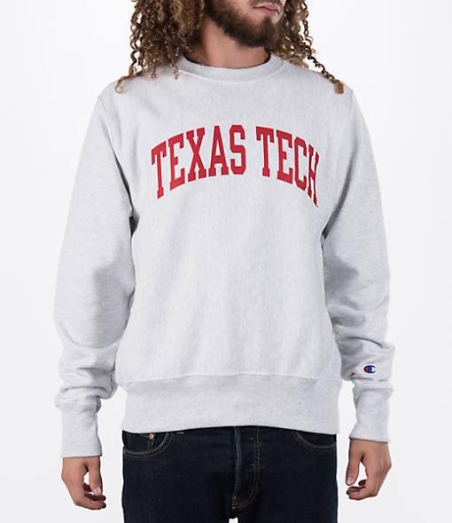 Men's Champion Texas Tech Red Raiders College Weave Crew Sweatshirt