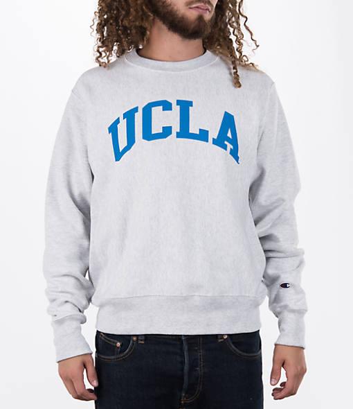 Men's Champion UCLA Bruins College Weave Crew Sweatshirt