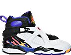Boys' Grade School Air Jordan Retro 8 Basketball Shoes