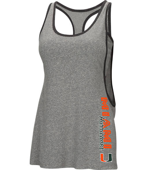 Women's Stadium Miami Hurricanes College Sultry Tank