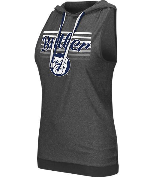 Women's Stadium Butler Bulldogs College Unagi Cross Back Sleeveless Hoodie