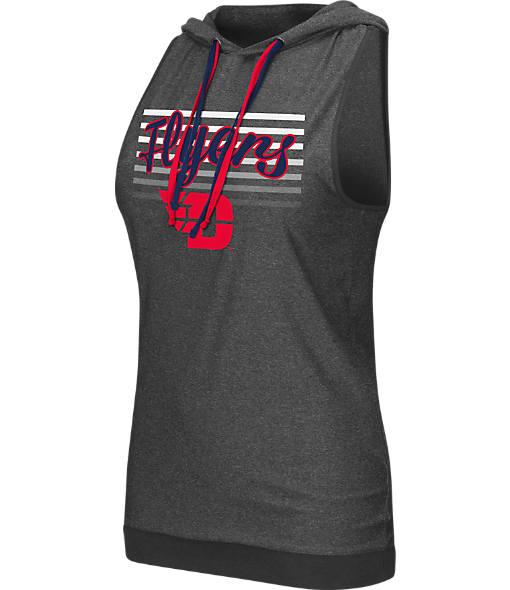 Women's Stadium Dayton Flyers College Unagi Cross Back Sleeveless Hoodie