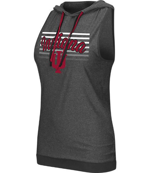 Women's Stadium Indiana Hoosiers College Unagi Cross Back Sleeveless Hoodie