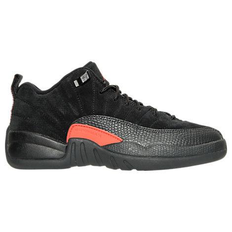 Boys' Grade School Air Jordan Retro 12 Low Basketball Shoes