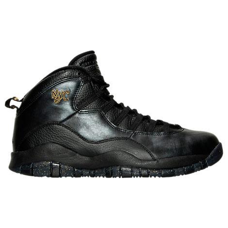 Men's Air Jordan Retro 10 Basketball Shoes