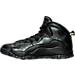 Left view of Men's Air Jordan Retro 10 Basketball Shoes in