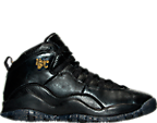 Boys' Grade School Jordan Retro 10 NYC Basketball Shoes