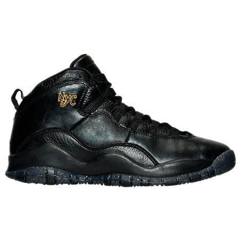 Boys' Grade School Jordan Retro 10 Basketball Shoes
