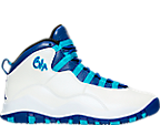Boys' Grade School Jordan Retro 10 Basketball Shoes