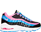 Girls' Grade School Nike Air Max 95 Running Shoes