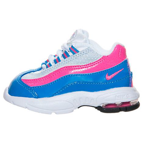 ... girls toddler nike air max 95 running shoes ...